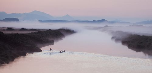 Ducks on a Foggy Morning, por Trey Ratcliff