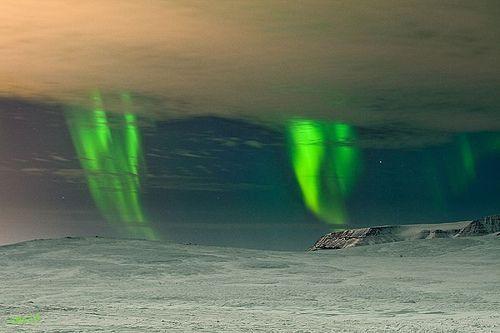 dancing Auroras, por Álfheiður Magnúsdóttir