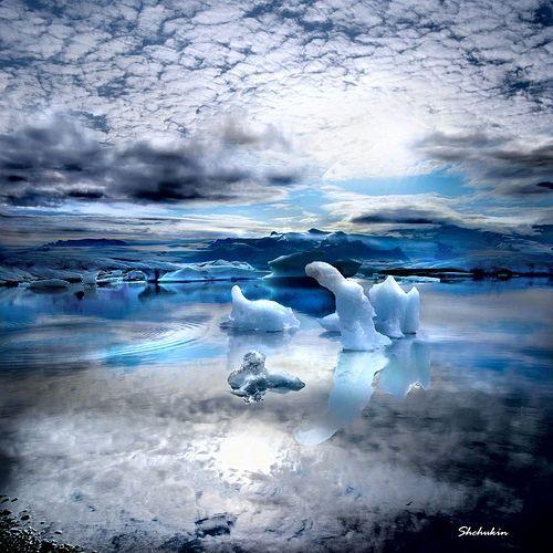 Icelandic landscape #20, por Alexander Shchukin