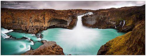 Aldeyjarfoss Panorama, por Dylan Toh