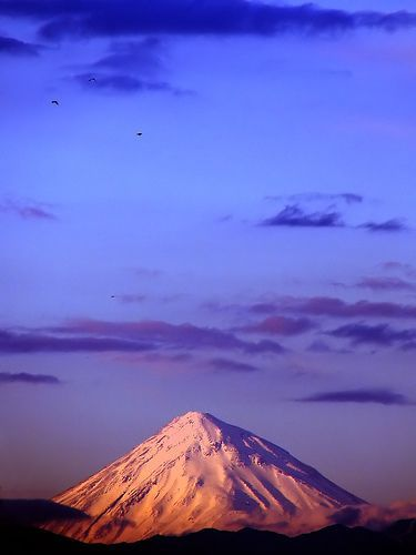 Mount Damavand, por Hamed Saber
