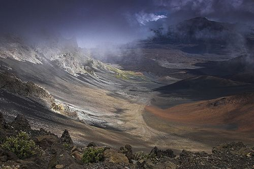 Haleakala Crater from the Vistors Center Overlook, por Chad Podoski