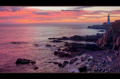 Sunrise at Cape Elizabeth, por Brent Danley