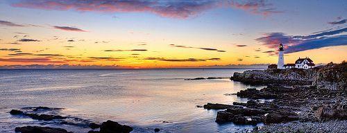 Cape Elizabeth, por Kay Gaensler