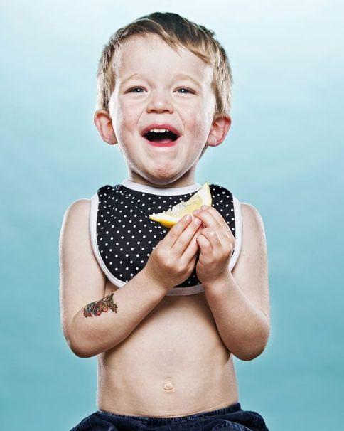 Niños Probando Limon por Primera Vez April Maciborka David Wile