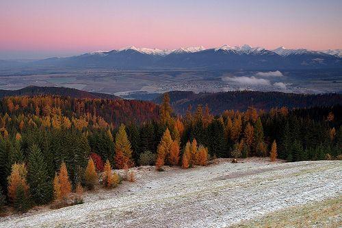 Soft Morning Touch ~ High Tatras, Slovakia, por Martin Sojka
