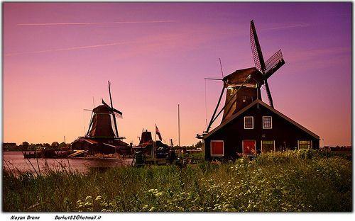 Holland, Amsterdam surrounding, por Moyan Brenn