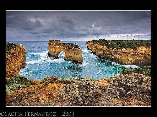 Island Archway - Great Ocean Road, por Sacha Fernandez