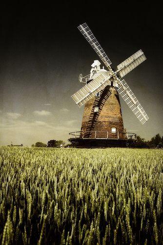windmill, por Marc Barker