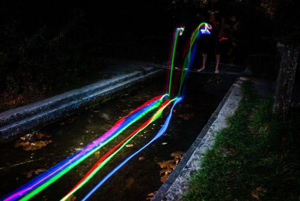 Neon Luminance Sean Lenz y Kristoffer Abildgaard