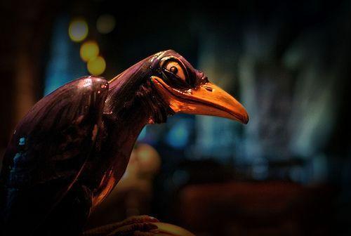 Disney - 13 Nights of Halloween - The Grinning Raven, por Joe Penniston