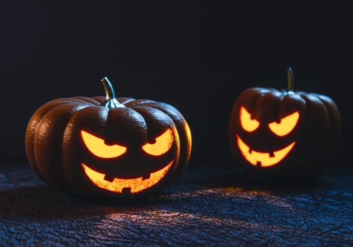 fotos de calabazas de halloween