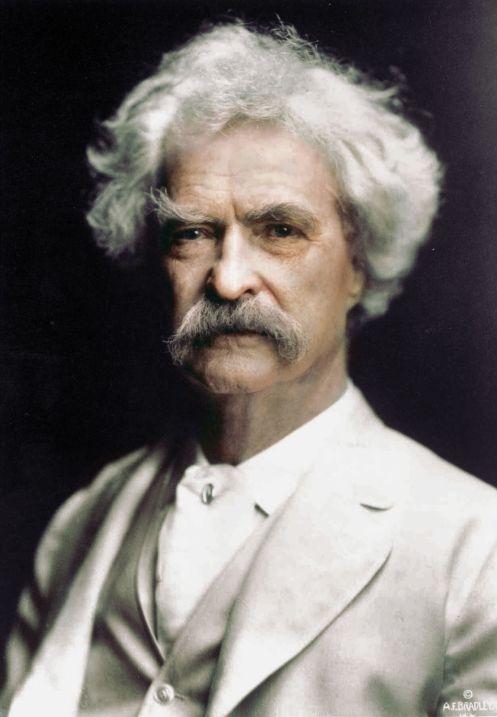 Mark Twain, 1907, por klassixx