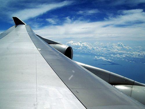 fotografiar desde un avion