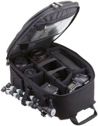 Mochila para cámara réflex y accesorios