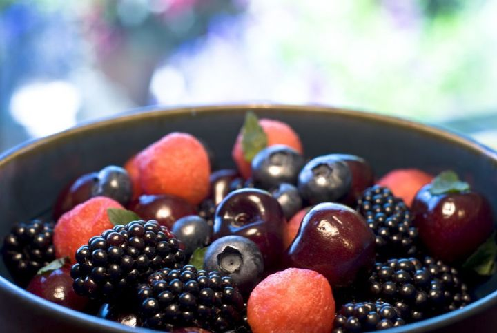 Summer Berry Fruit Salad
