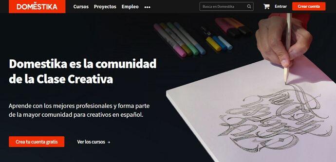 domestika la comunidad para la clase creativa