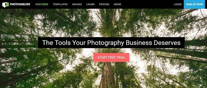 portafolio profesional para negocios de fotografia