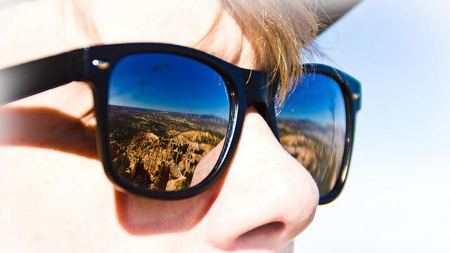 ejercicio de fotografia con reflejos