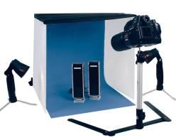 Kit de estudio fotográfico portátil