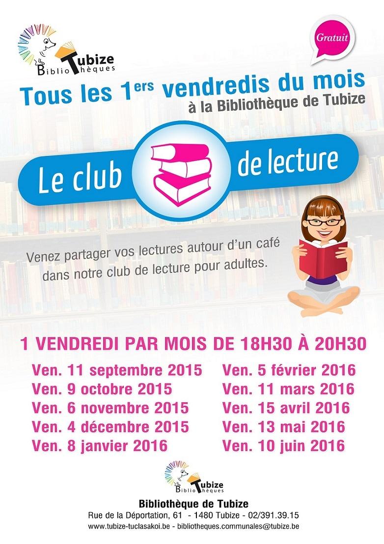 Club de lecture 2015 - 2016