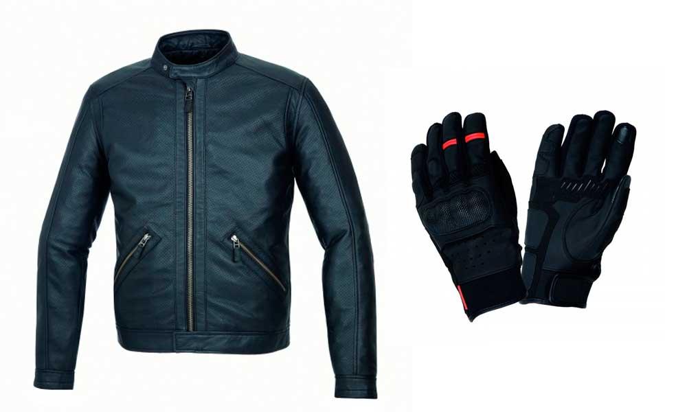 Chaqueta Tom y guantes Mrk Skin de Tucano Urbano