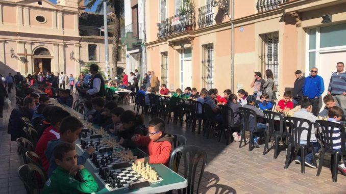 ajedrez plaza benimaclet