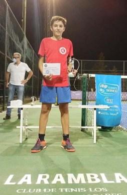 Campeón de la liga de tenis de la Rambla