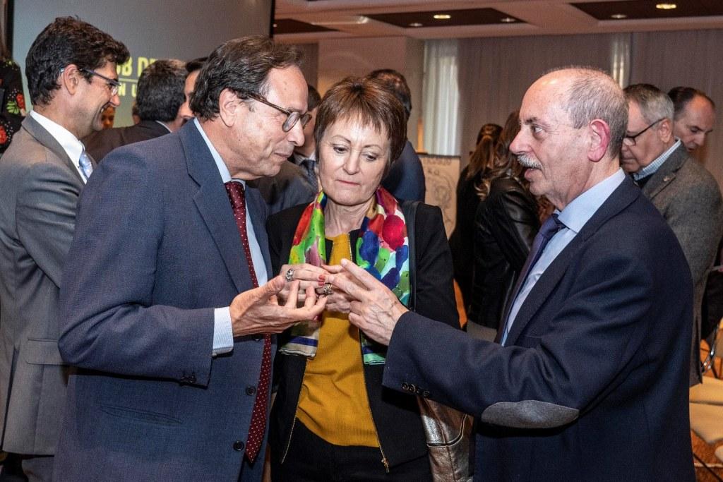 Directores de medios de comunicación valencianos analizan los resultados de las elecciones del 28A en el Club de Encuentro17