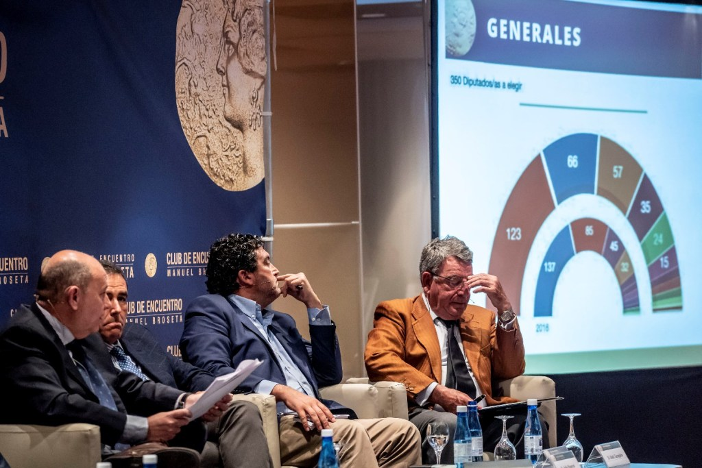 Directores de medios de comunicación valencianos analizan los resultados de las elecciones del 28A en el Club de Encuentro53