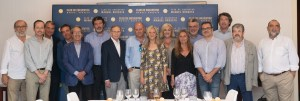 El Club de Encuentro entrega sus medallas a directores de medios de comunicación valencianos I