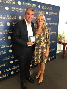 El Club de Encuentro entrega sus medallas a directores de medios de comunicación valencianos II