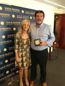 El Club de Encuentro entrega sus medallas a directores de medios de comunicación valencianos V