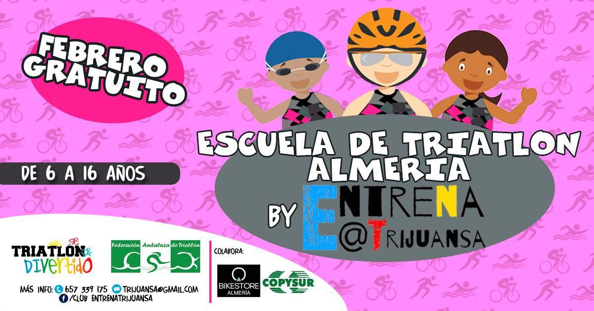 Lanzamos la Escuela de Triatlón en Almería