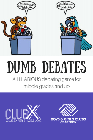 Dumb Debates pin.png