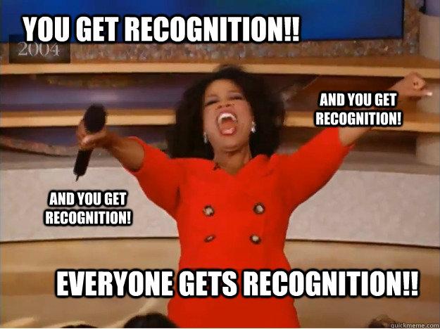 Recognition (Oprah Winfrey)