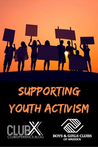Supporting Youth Activism pinterest