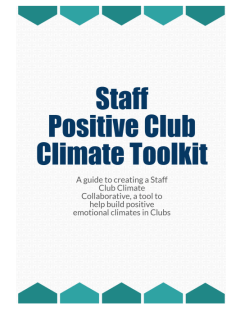 staff climate