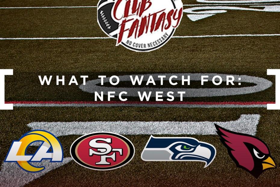 club fantasy ffl, ryan weisse, nfc west fantasy football article