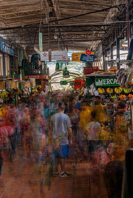 Transhumantes del mercado