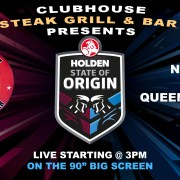 State of Origin Live at Clubhouse Sanur Bali