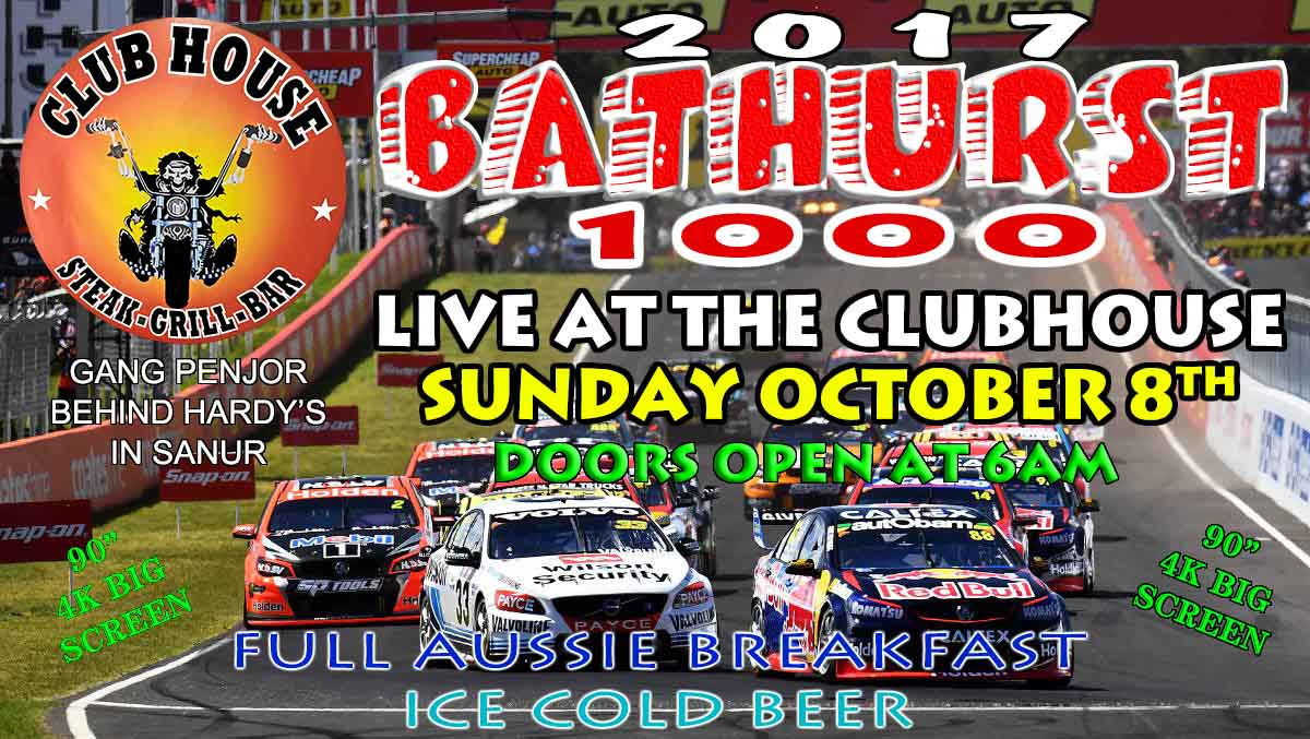 Bathusrt 1000 Live at the Clubhouse in Sanur
