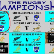 Clubhouse Steak Grill Bar Sanur Rugby Championship Bledisloe Cup 2018
