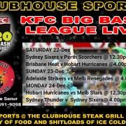Clubhouse Steak Grill & Bar Sanur Big Bash League