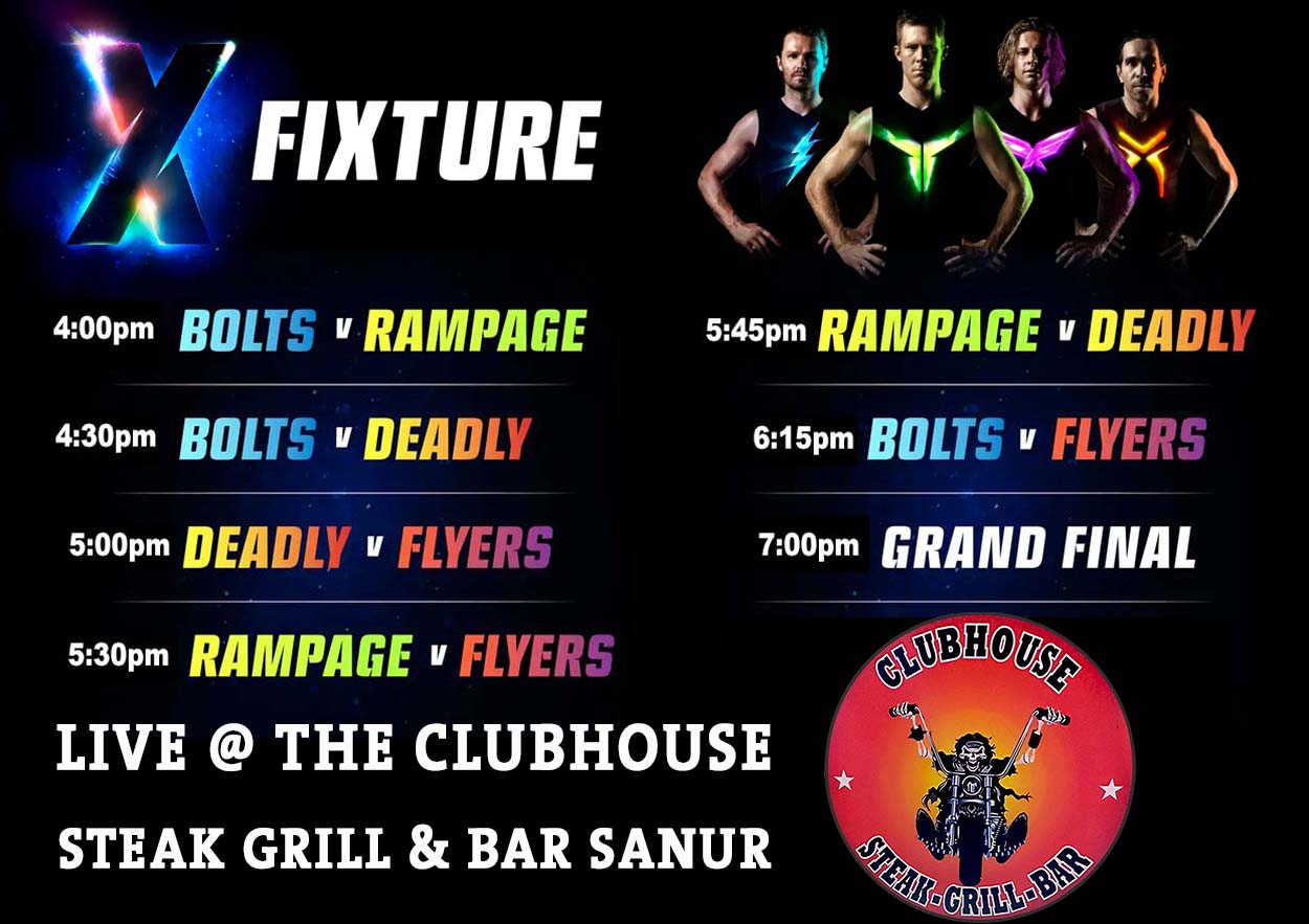 AFLX Live @ Clubhouse Sanur Sports