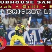 Clubhouse Sanur Sports Schedule ODI Cricket