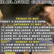 AFL Footy This Week | Clubhouse - Steak, Grill & Bar in Sanur