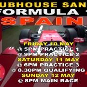 Clubhouse Sports Formula 1 Grand Prix Spain