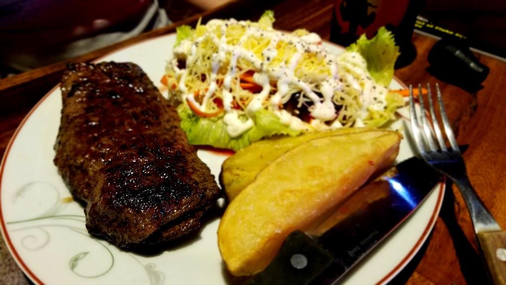 Truckers Big Steak Meal 400gm Striplion