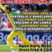 The Clubhouse sanur Presents ICC Cricket World Cup Live in Bali
